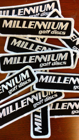 Millennium Iron-On Patches