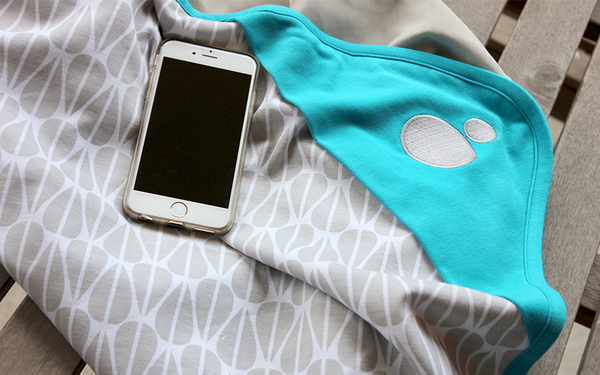 Smart Baby Products that give peace of mind: Belly Armor Belly Blanket