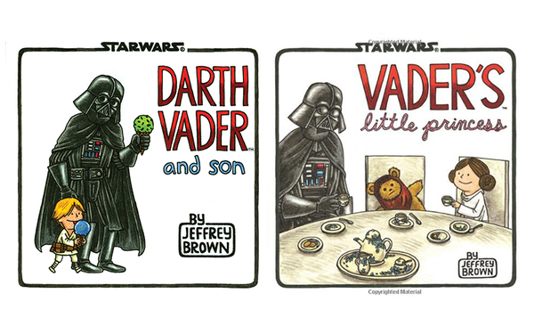 Father's Day Gift Idea Darth Vader and Son