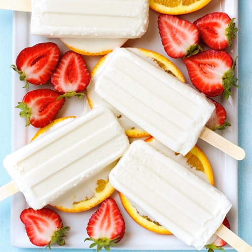 10 Easy & Refreshing Popsicle Recipes - Coconut Cream Popsicle