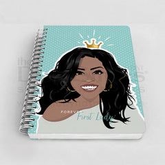 Forever First Lady Michelle Obama Notebook Cover Design
