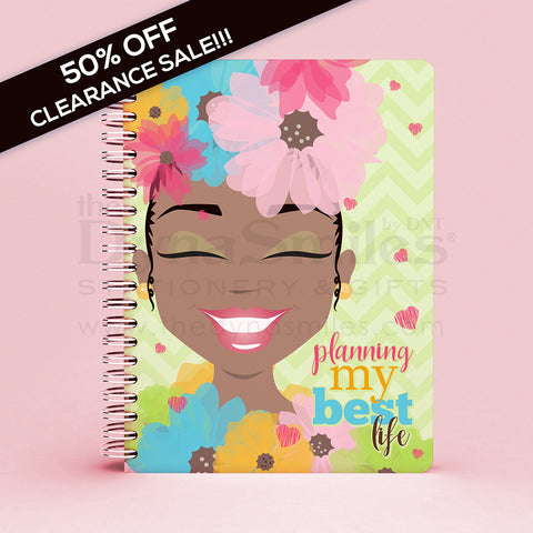 "CLEARANCE SALE! ""Ms Flower Forward"" 2019 Planner"