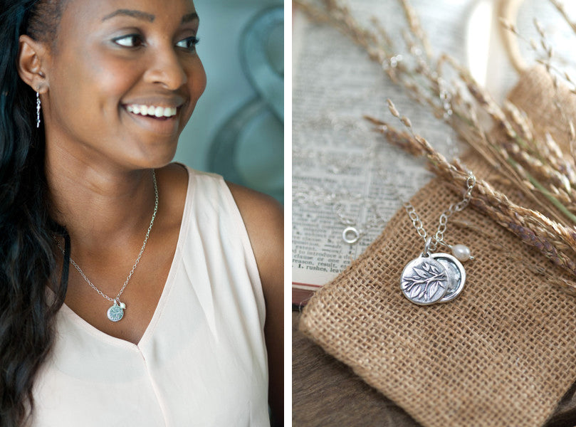 Have a special someone you continually thank God for? Keep them close to your heart and on your mind with this little sterling silver locket! Lovely carved tree wraps around from front to back. Features slide closure. Inspired by Phil 1:3 by Holly Lane Christian Jewelry