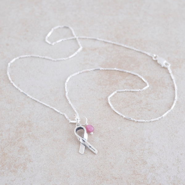 Holly Lane Christian Jewelry - Awareness Ribbon Necklace