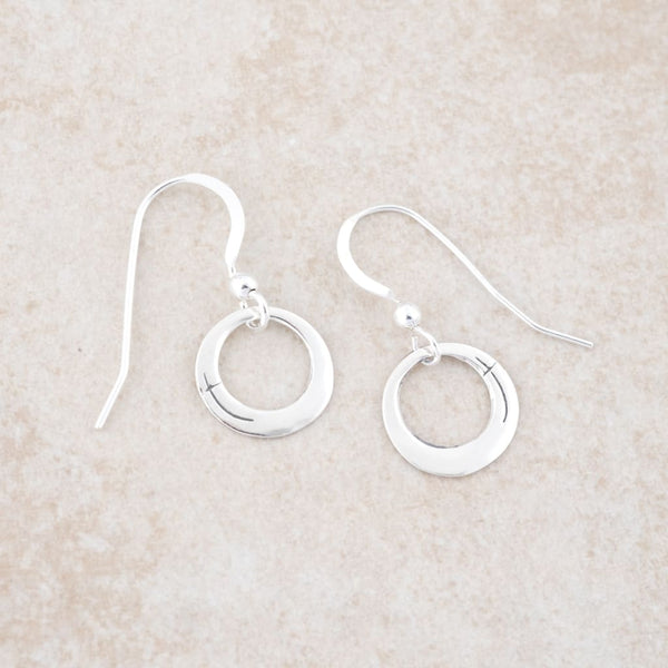 Holly Lane Christian Jewelry - Always Present Petite Hoops