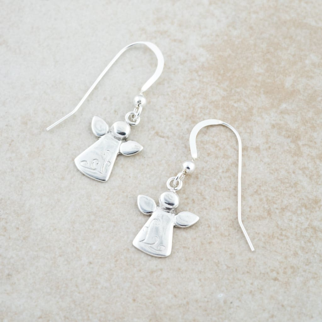 Holly Lane Christian Jewelry - Angel Earrings