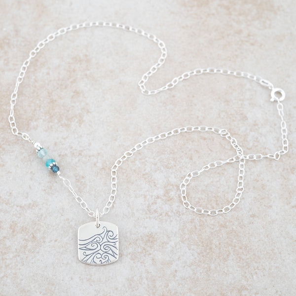 Holly Lane Christian Jewelry - Be Still Necklace