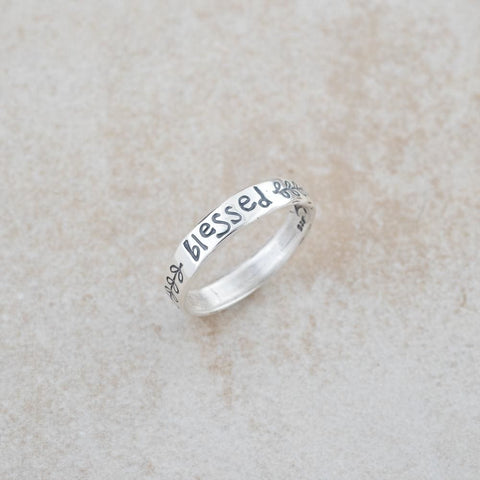 Holly Lane Christian Jewelry - Blessed Ring