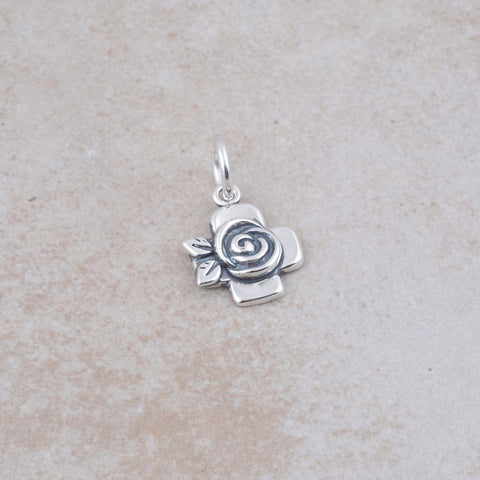 Bloom Cross Charm