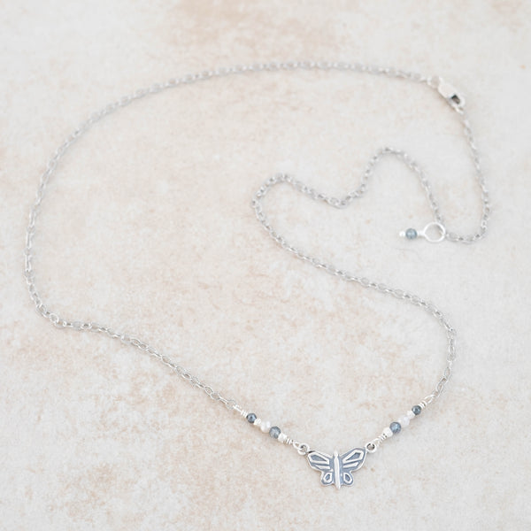 Holly Lane Christian Jewelry - Butterfly Necklace