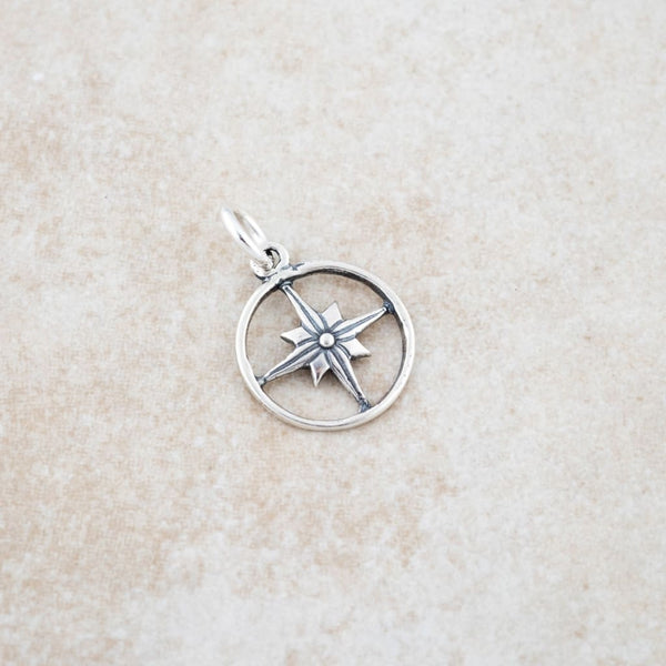 Holly Lane Christian Jewelry - Compass Pendant