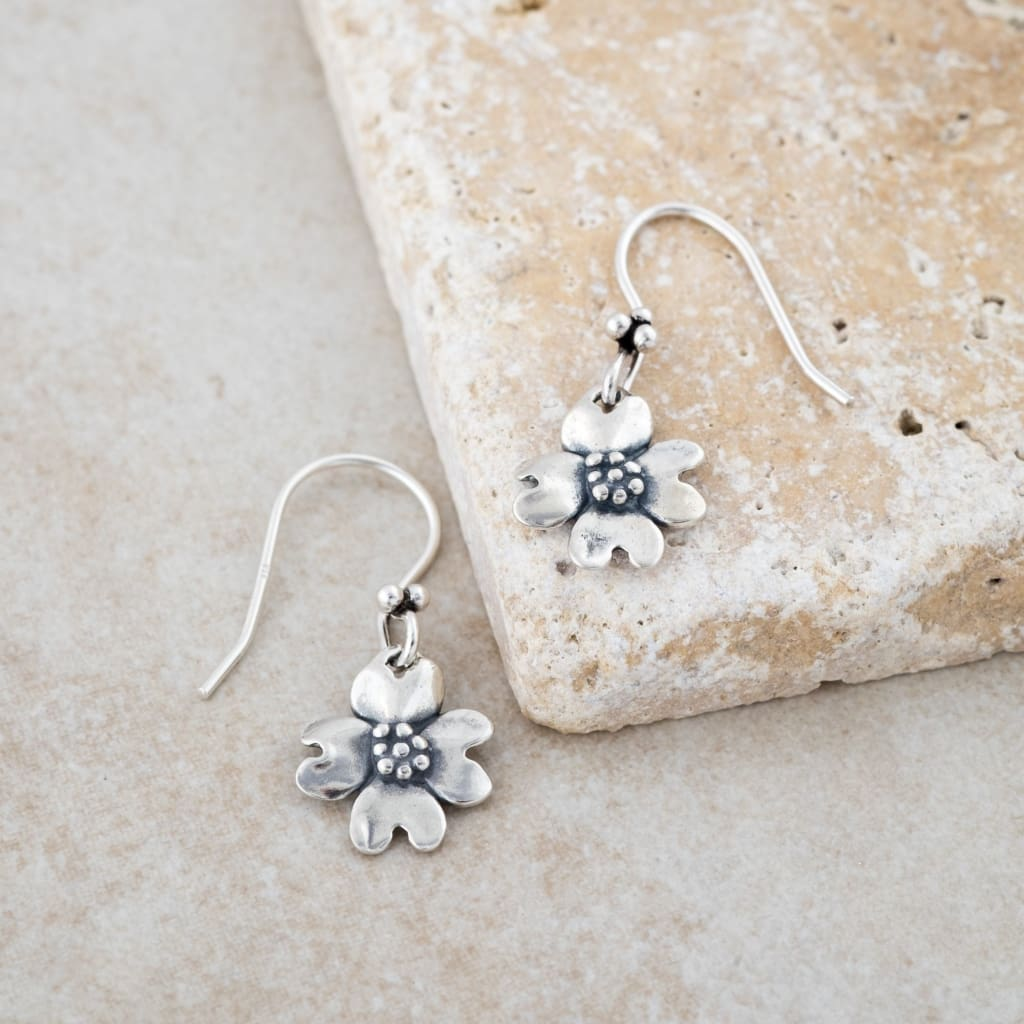 Holly Lane Christian Jewelry - Dogwood Earrings
