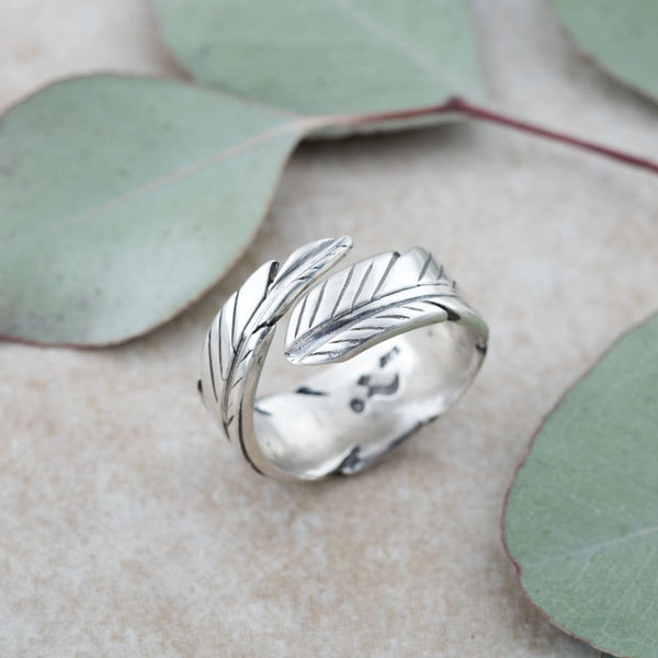 Holly Lane Christian Jewelry - Feather Ring