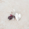 Holly Lane Christian Jewelry - Garnet Cluster