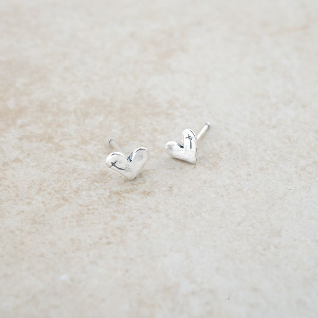 Holly Lane Christian Jewelry - Heart for God Studs