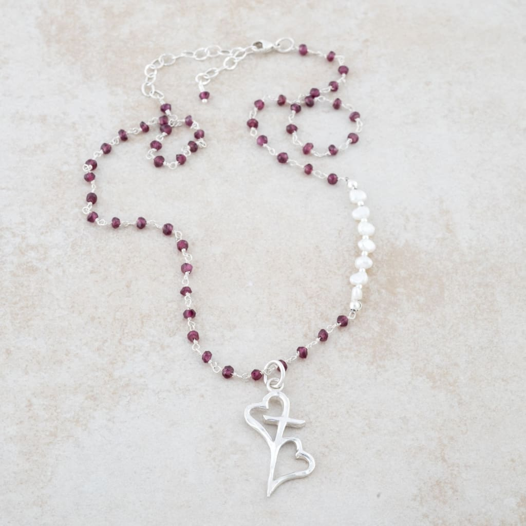 Holly Lane Christian Jewelry - Hearts Connected Necklace