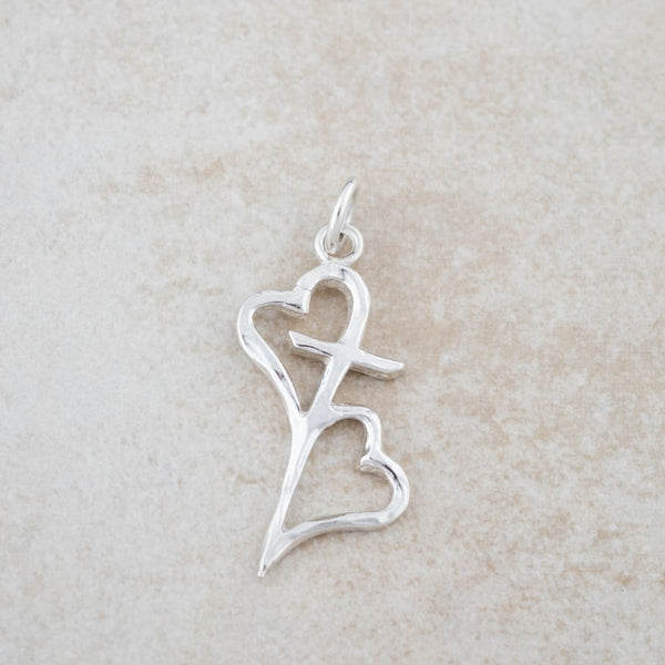 Holly Lane Christian Jewelry - Hearts Connected Pendant
