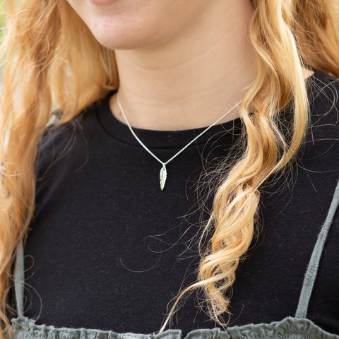 Holly Lane Christian Jewelry - Little Feather Necklace