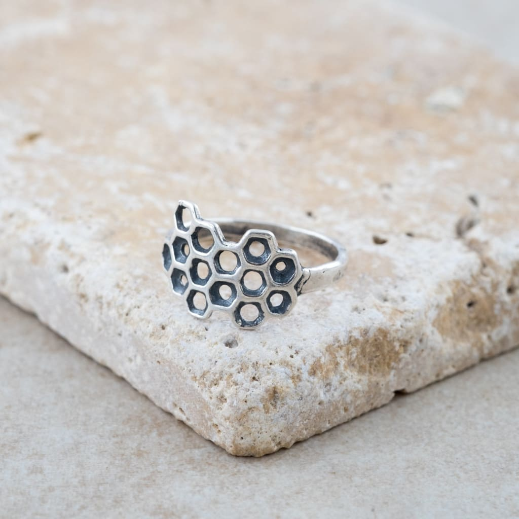 Holly Lane Christian Jewelry - Honeycomb Ring
