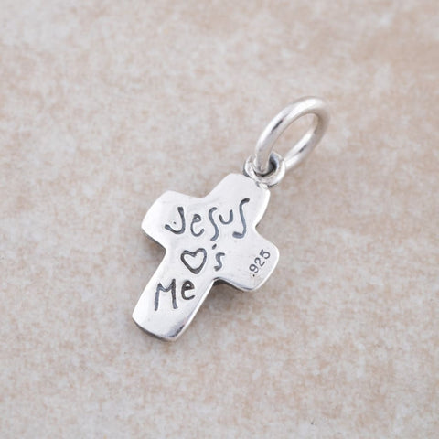 Holly Lane Christian Jewelry - Jesus Loves Me Pendant