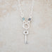 Holly Lane Christian Jewelry - Key Charm Necklace