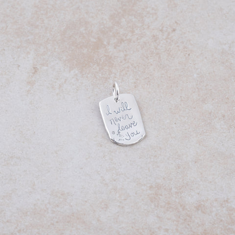 Never Leave You Pendant