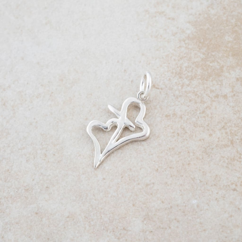 Holly Lane Christian Jewelry - Hearts Connected Charm