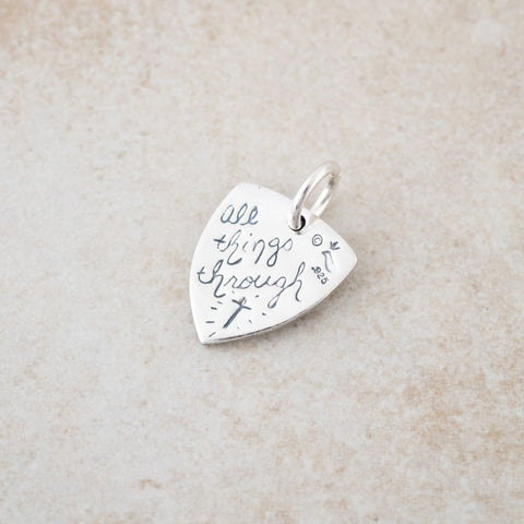 Holly Lane Christian Jewelry - Shield Charm