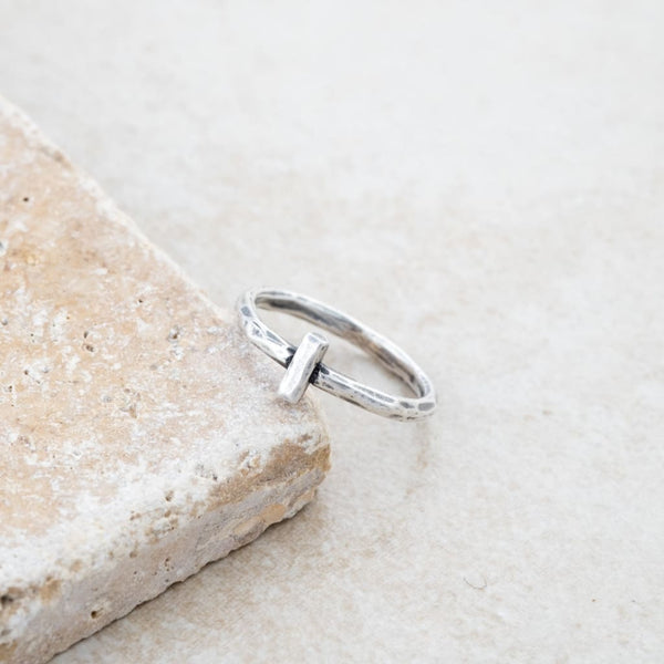Holly Lane Christian Jewelry - Straight and Narrow Ring