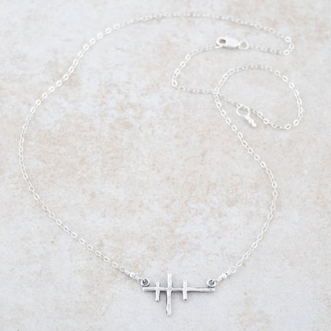 Holly Lane Christian Jewelry - Three Crosses Necklace