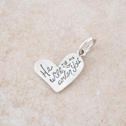 Holly Lane Christian Jewelry - Under His Wings Charm