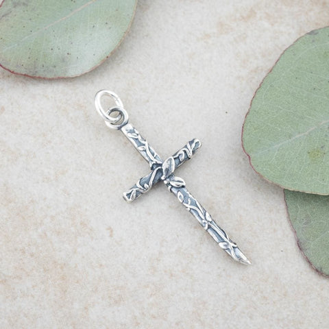 Holly Lane Christian Jewelry - Vine Cross Pendant