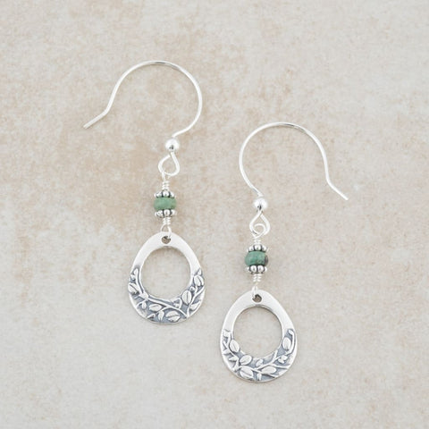 Holly Lane Christian Jewelry - Vine Earrings