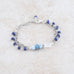 Holly Lane Christian Jewelry - Blue Skies Slide Bracelet