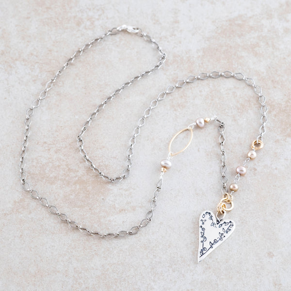 Holly Lane Christian Jewelry - Done in Love Necklace