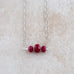Holly Lane Christian Jewelry - Rubies Necklace