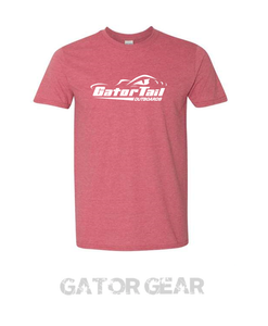 Gatortail Heather Cardinal Tee
