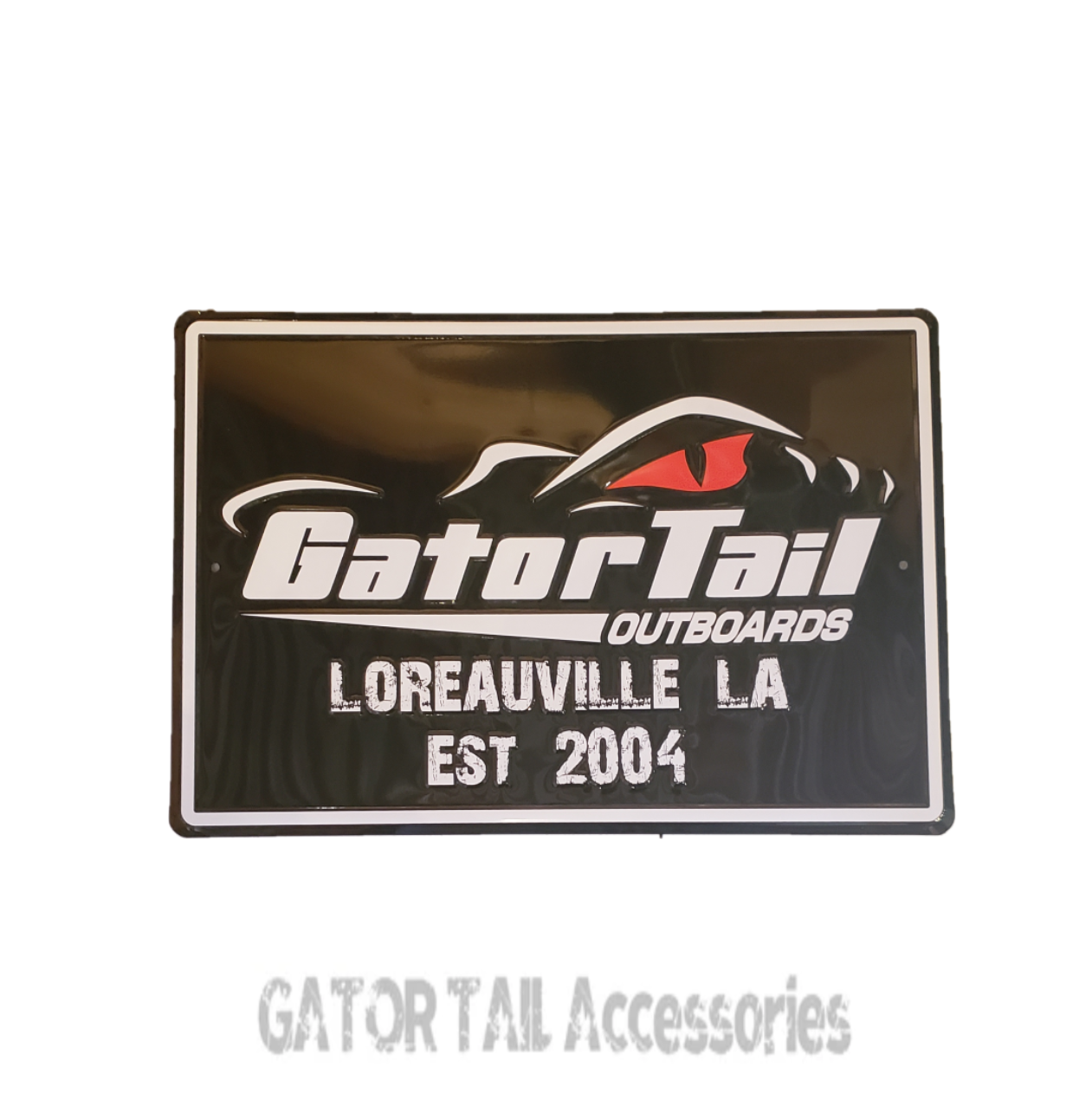 Gatortail Sign 18 X 12