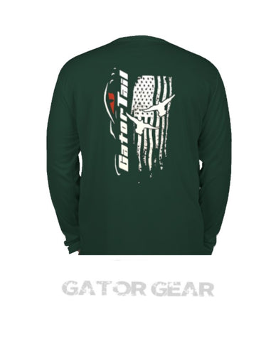 Dri Fit Long Sleeve Green