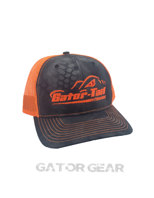 Typhoon/Orange GT Kryptek Hat