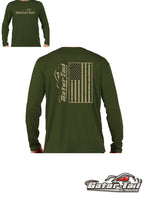 American Made Dri Fit Long Sleeve Shirt