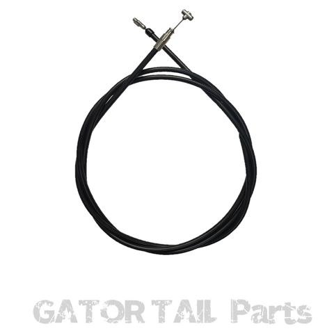 Tiller Throttle Cable G1 (Black Plastic Lever)