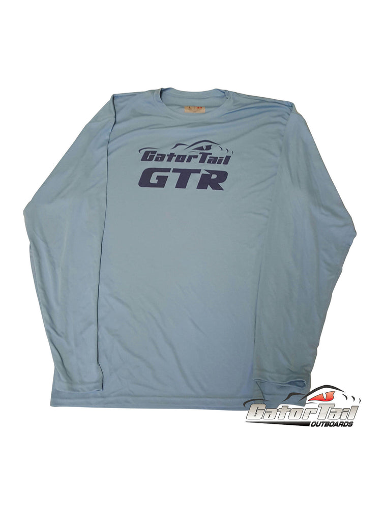 Dri Fit Gatortail Baby Blue Fishing Shirt
