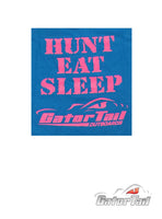Hunt Eat Sleep Kids T-Shirts