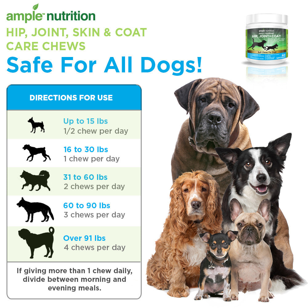 Hip, Joint, & Coat For Dogs