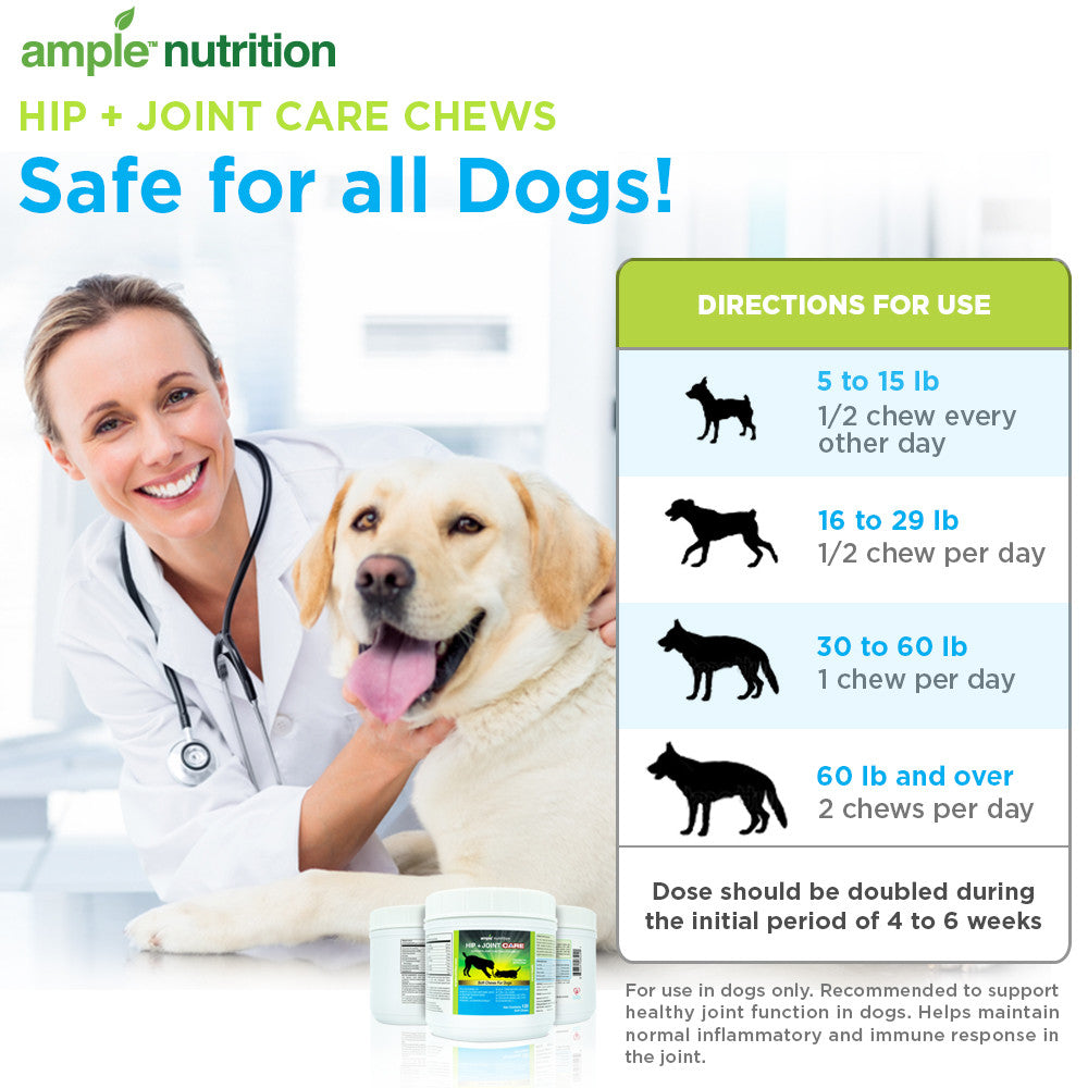 Hip + Joint Care For Dogs