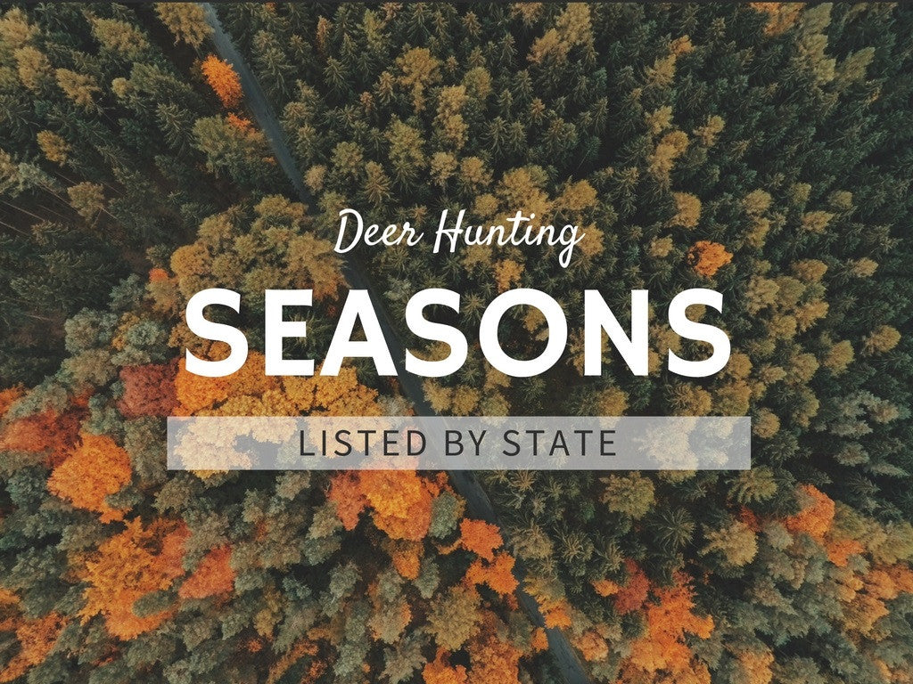 Deer Hunting Seasons By State