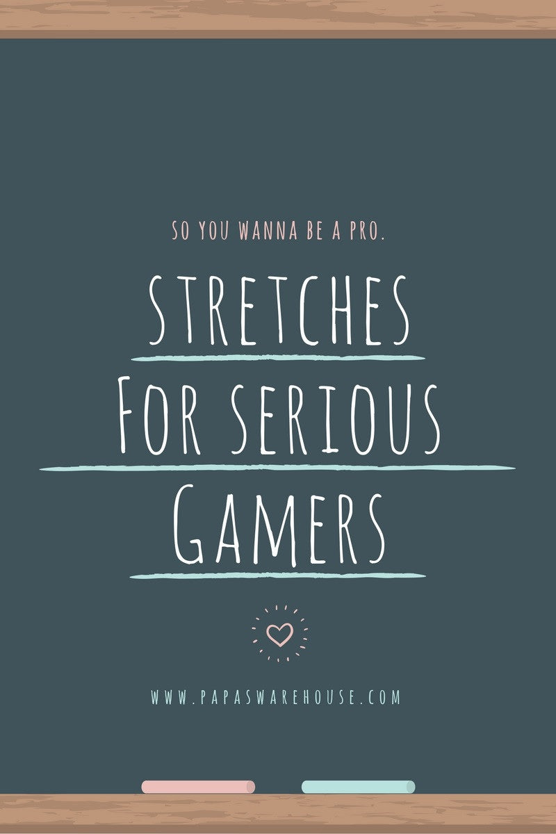Hand & Finger Stretches For Gamers