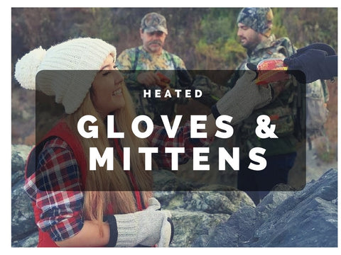 Heated Gloves & Mittens