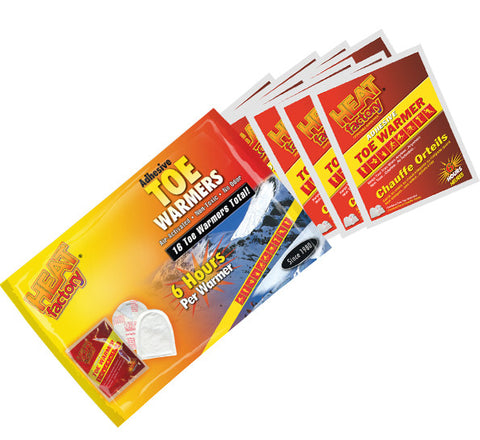Adhesive Toe Warmer Big Pack (8 Pairs)